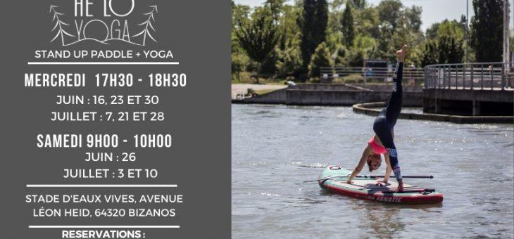 Cours de SUP Yoga au Stade d'Eaux Vives