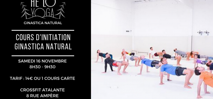 Cours d'initiation Ginastica Natural le 7 mars de 8h30 à 9h30